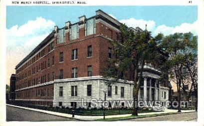 New Mercy Hospital - Springfield, Massachusetts MA Postcard