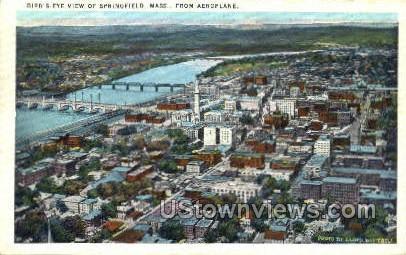 Springfield, Massachusetts, MA Postcard