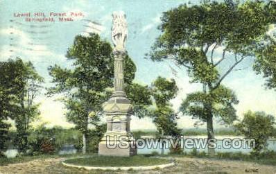 Laurel Hill, Forest Park - Springfield, Massachusetts MA Postcard