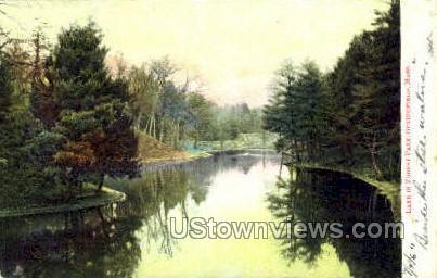 The Old Toll Bridge - Springfield, Massachusetts MA Postcard