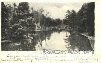 Lake, Forest Park - Springfield, Massachusetts MA Postcard