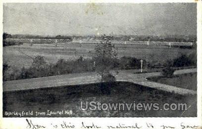 Laurel hill. - Springfield, Massachusetts MA Postcard