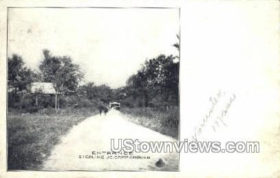 Entrance - Sterling Junction, Massachusetts MA Postcard