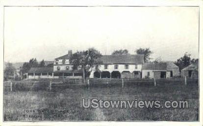 John Gates Place - Sterling Junction, Massachusetts MA Postcard