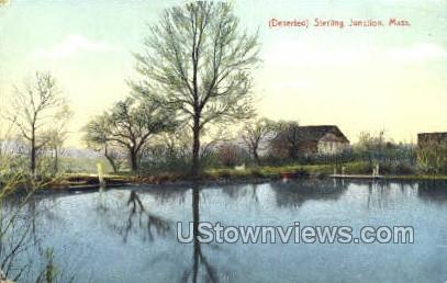 Sterling Junction, Massachusetts, MA Postcard