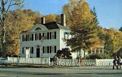 The Old corner House - Stockbridge, Massachusetts MA Postcard