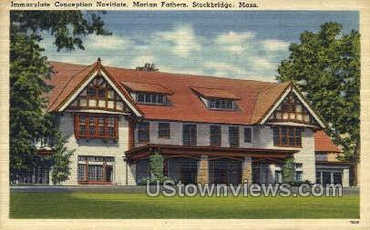Immaculate Conception Novitiate - Sturbridge, Massachusetts MA Postcard