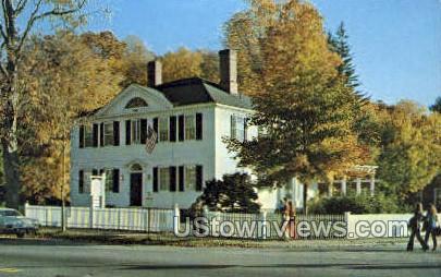 The Old corner House - Sturbridge, Massachusetts MA Postcard