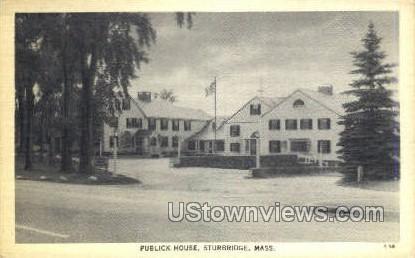 Publick House - Sturbridge, Massachusetts MA Postcard