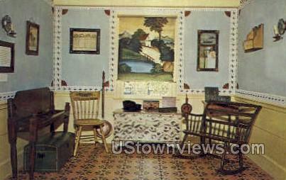 Country Art Exhibition - Sturbridge, Massachusetts MA Postcard
