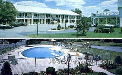 Sturbridge Coach Motor Lodge - Massachusetts MA Postcard