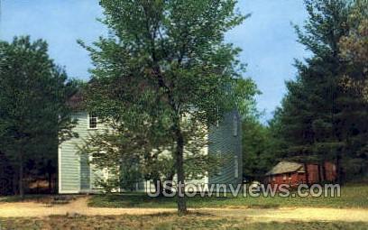 The Quaker Meeting House - Sturbridge, Massachusetts MA Postcard