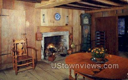 Stephen Fitch House - Sturbridge, Massachusetts MA Postcard
