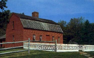 The Pliny Freeman Farmhouse - Sturbridge, Massachusetts MA Postcard