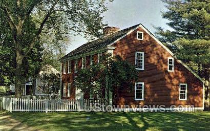 The Solomon Richardson House - Sturbridge, Massachusetts MA Postcard