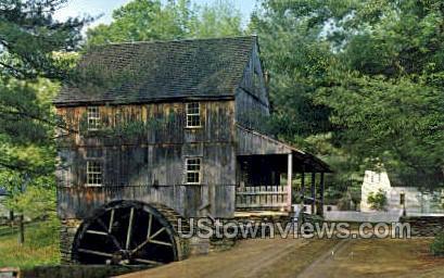 Wight's Grist Mill - Sturbridge, Massachusetts MA Postcard