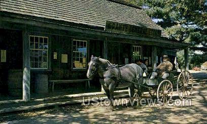 Miner Grants General Store - Sturbridge, Massachusetts MA Postcard