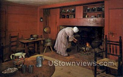 John Fenno House - Sturbridge, Massachusetts MA Postcard