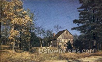 Grist Mill - Sturbridge, Massachusetts MA Postcard