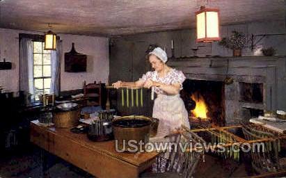 Village Candlemaker - Sturbridge, Massachusetts MA Postcard