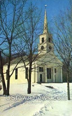 Meetinghouse - Sturbridge, Massachusetts MA Postcard