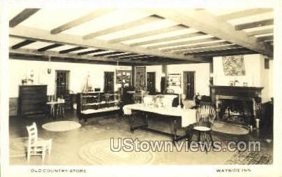 Country Store, Wayside Inn - Sudbury, Massachusetts MA Postcard