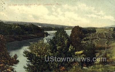 Highland Point - Sunderland, Massachusetts MA Postcard