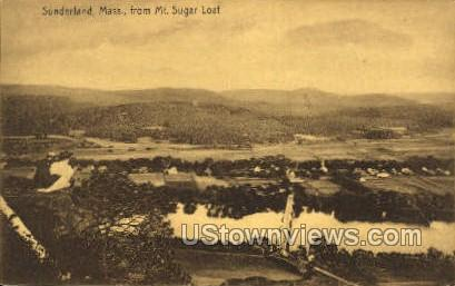 Sunderland, Massachusetts, MA Postcard