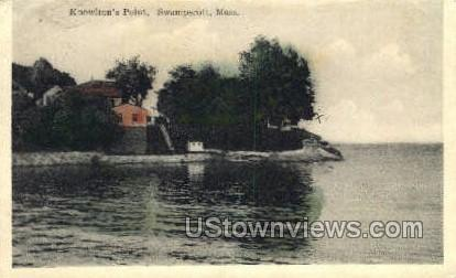 Knowlton's Point - Swampscott, Massachusetts MA Postcard