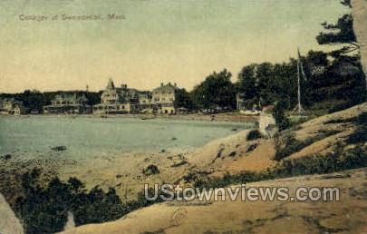 Cottages - Swampscott, Massachusetts MA Postcard