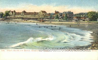 Ocean House & Beach in Swampscott Massachusetts Vintage