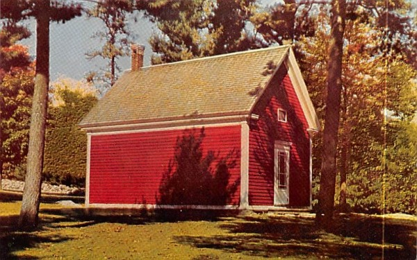 Mary Lamb School at Longfellow's Wayside Inn South Sudbury, Massachusetts Postcard