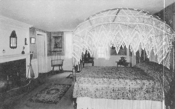 The Washington Room South Sudbury, Massachusetts Postcard
