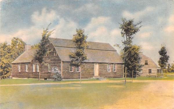 Stephen Fitch House Sturbridge, Massachusetts Postcard