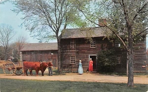 The Fenno House Sturbridge, Massachusetts Postcard