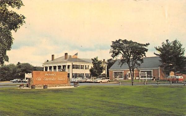 Old Sturbridge Village Massachusetts Postcard