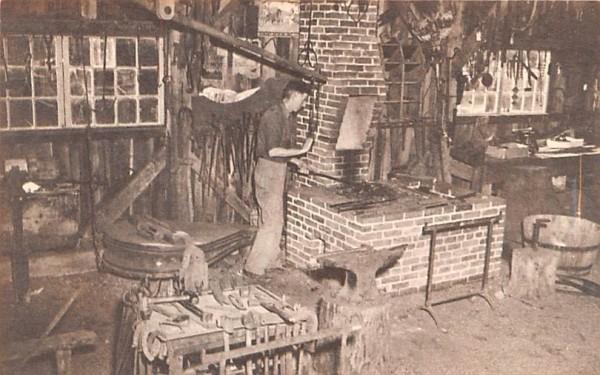 The Village Smithy Sturbridge, Massachusetts Postcard