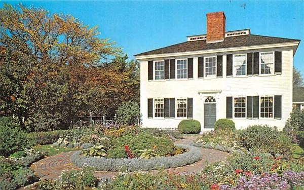 The Towne House Sturbridge, Massachusetts Postcard