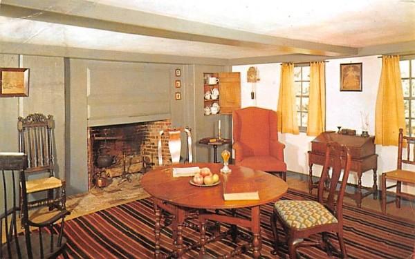 Parlor  Sturbridge, Massachusetts Postcard