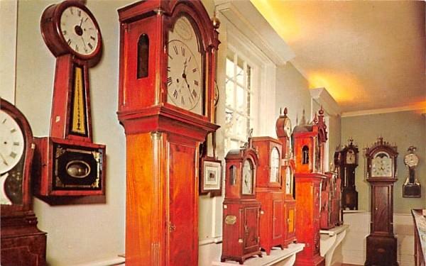 The Clock Museum Sturbridge, Massachusetts Postcard