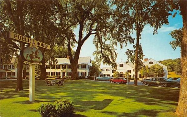 Publick House Sturbridge, Massachusetts Postcard