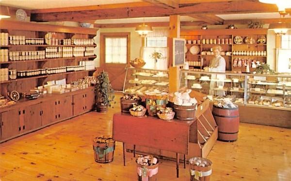 The Bake Shoppe Sturbridge, Massachusetts Postcard