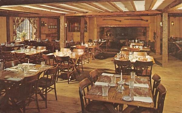 The Tap Room Sturbridge, Massachusetts Postcard