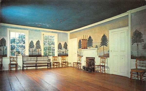 Masonic Meeting Room Sturbridge, Massachusetts Postcard