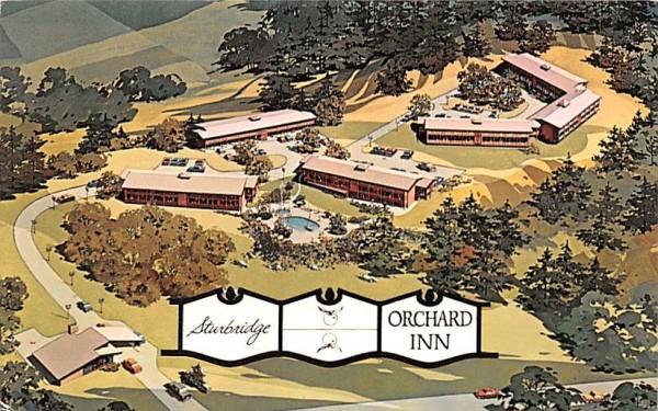 Sturbridge Orchard Inn Massachusetts Postcard