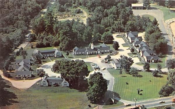 Liberty Cap Motel Sturbridge, Massachusetts Postcard