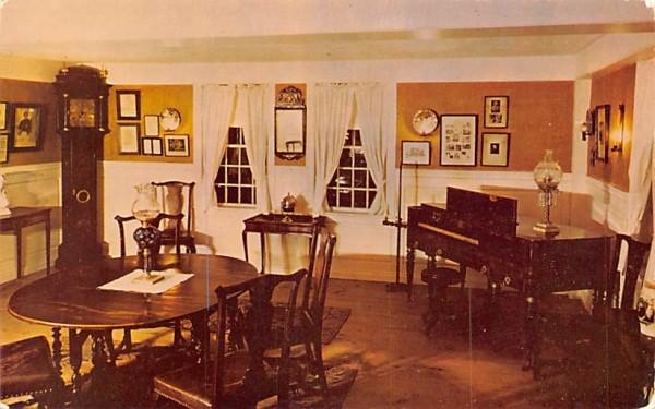The Parlor South Sudbury, Massachusetts Postcard