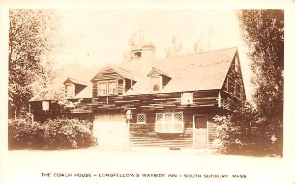 The Coach House South Sudbury, Massachusetts Postcard