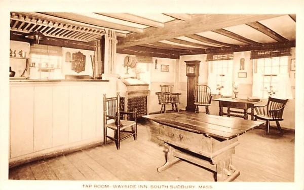 Tap Room South Sudbury, Massachusetts Postcard