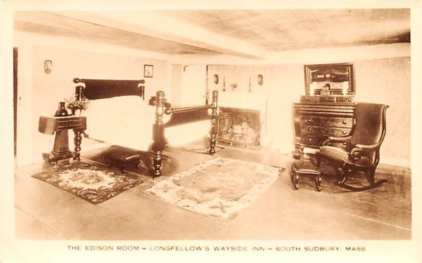 The Edison Room South Sudbury, Massachusetts Postcard